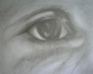 "18"" x 24"", Pencil on paper, 2009"