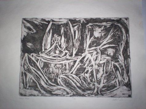 "8"" x 10"", Etching, 2008"